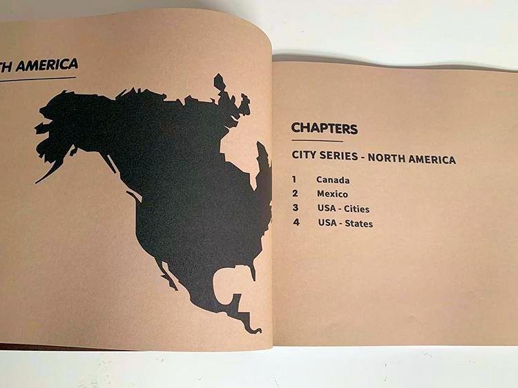 Vintage Adidas Schuhe City Series North America Book 2